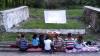 Cinematograf în aer liber! În sectorul Buiucani al Capitalei un grup de tineri restaurează fostul teatru de vară