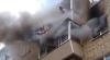 SCENE TERIBILE și o salvare ca la carte! Toți membrii familiei AU SĂRIT DE PE BALCON când a început INCENDIUL (VIDEO)
