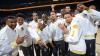 Warriors a obţinut al cincilea titlu de campioană. Victoria a fost sărbătorită pe străzile din Oakland