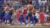 Nebunie la Florenţa! Zeci de oameni au împărţit pumni şi picioare cu nemiluita la Calcio Storico Fiorentino