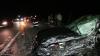 Microbuz cu moldoveni, implicat într-un accident rutier în România. Urmau să ajungă în Franţa (VIDEO)
