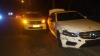 Depăşire eşuată. Două automobile, implicate în accident rutier în sectorul Râşcani (FOTO)