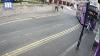 GREU DE CREZUT! Prima reacţie a unui bărbat care a fost lovit în plin de un autobuz (VIDEO)