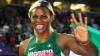 O sportivă a rămas fără perucă în timpul unui concurs de atletism