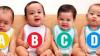 Care dintre bebeluşi este fetiţă? Testul care spune multe despre personalitatea ta
