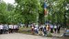 Lecţii de securitate într-o tabără din Bălţi. Copiii au primit sfaturi de la salvatori şi poliţişti