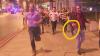 NO COMMENT. Un tânăr fuge cu halba de bere în mână în timpul atacului din Londra