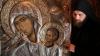 O icoană făcătoare de minuni, adusă la Mănăstirea Ciuflea din Capitală. Moldovenii pot veni să se închine