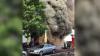 INCENDIU DE PROPORŢII la Târgu Mureș: 30 de oameni, evacuaţi de urgenţă