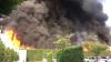 Arde o clădire din Tokyo (VIDEO)