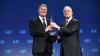 Klaus Iohannis, premiat în SUA: Lupta anticorupție va continua