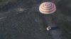 O capsulă Soyuz cu doi astronauţi a aterizat cu succes în stepa din Kazahstan