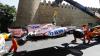 Pilotul echipei Force India, Sergio Perez, a suferit un accident şi a abandonat antrenamentele înaintea Marelui Premiu al Europei la F1