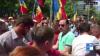 Echipa PUBLIKA TV, AGRESATĂ la mitingul partidelor de opoziție, de la Parlament (VIDEO NECENZURAT)