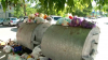 Capitala, inundată cu gunoi! Locuitorii comunei Bubuieci au blocat accesul camioanelor spre gunoişte