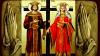 Creştinii ortodocşi de stil vechi îi cinstesc astăzi pe Sfinţii Constantin şi Elena