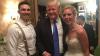 SURPRIZĂ DE PROPORŢII pentru un cuplu. La nunţa lor și-a făcut apariția președintele Donald Trump