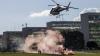 Un elicopter a atacat cu grenade şi focuri de armă Curtea Supremă din Venezuela