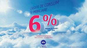 6% anual – rata dobânzii pentru creditele imobiliare și de consum oferite de Victoriabank