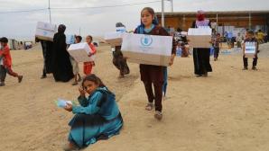 Mâncare OTRĂVITĂ într-o tabără de refugiaţi din Irak. 800 persoane intoxicate, un copil a murit