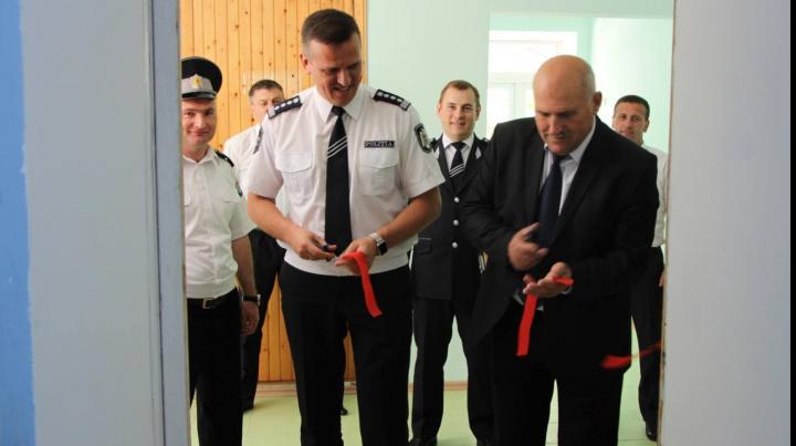 Șeful IGP, Alexandru Pînzari a efectuat o vizită de lucru la Inspectoratul de Poliție Leova