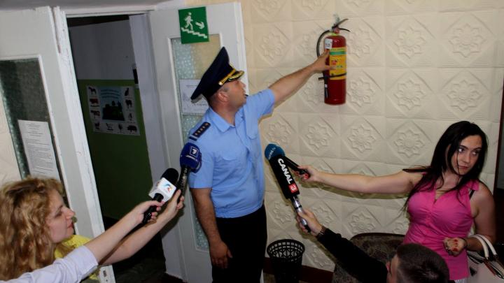Aplicații pentru situații excepționale. Pompierii previn incendiile în taberele de odihnă pentru copii (FOTO)
