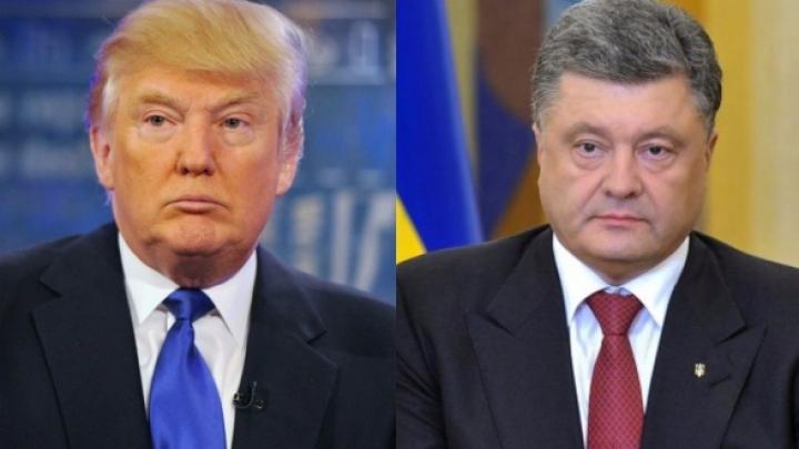 Poroşenko s-a întâlnit cu Trump: Am avut discuții fructuoase în trecut, ele vor continua astăzi