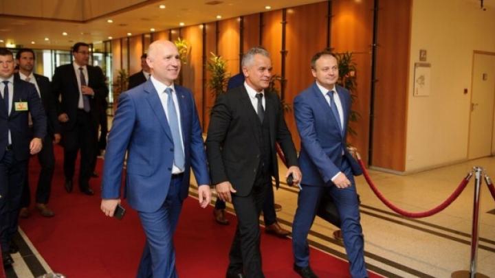 Reformele lansate de guvernarea de la Chișinău discutate de conducerea PDM la întrevederea cu liderii politici din PE