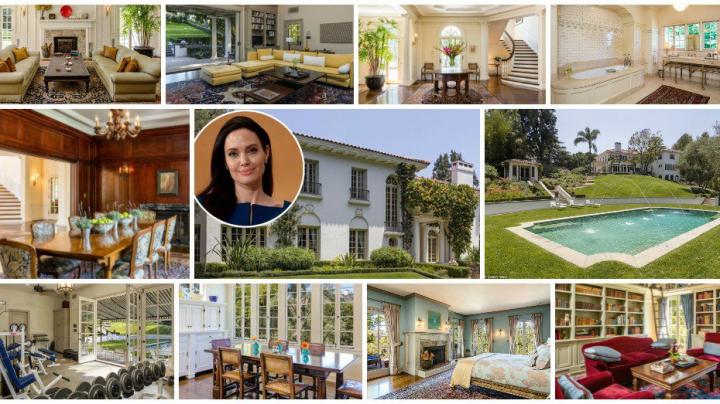Angelina Jolie şi-a cumpărat o proprietate cu aproape 25 de milioane de dolari