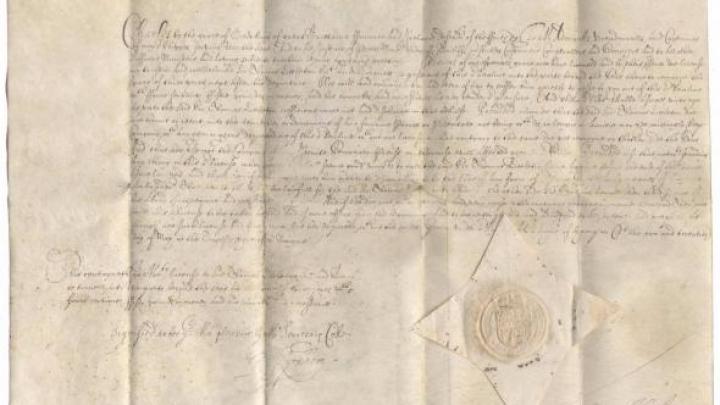 Cel mai vechi pașaport din lume a fost vândut la licitație