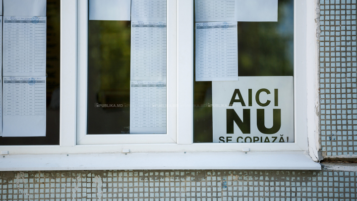BAC 2017: Doi elevi au fost eliminaţi de la examenul la matematică