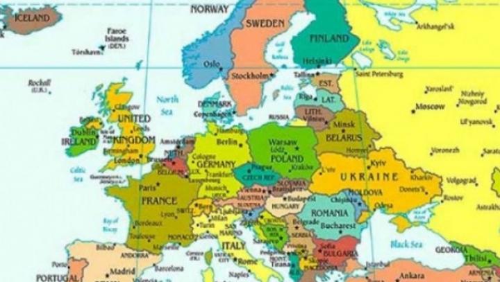 Cum Ar Arăta Europa Dacă Toată Gheaţa Din Lume S Ar Topi Hartă