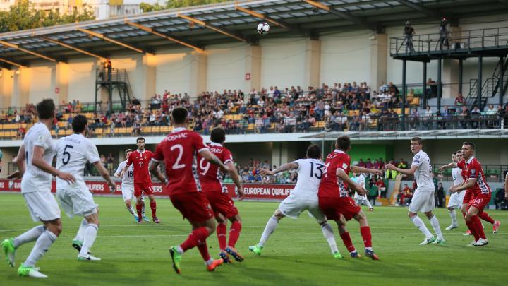 Moldova, fără victorie în preliminariile Campionatului Mondial din 2018, după ce a făcut egalitate cu Georgia (FOTO)