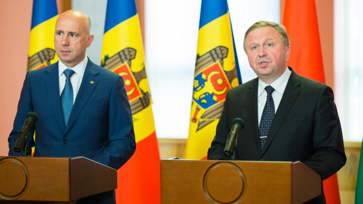 Moldova, partener economic principal al Belarusului. Premierul Pavel Filip, în vizită oficială la Minsk
