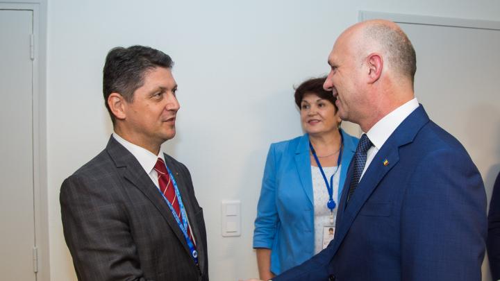 Pavel Filip a cerut urgentarea interconectării de energie cu România, în cadrul întrevederii cu delegația României la APCE