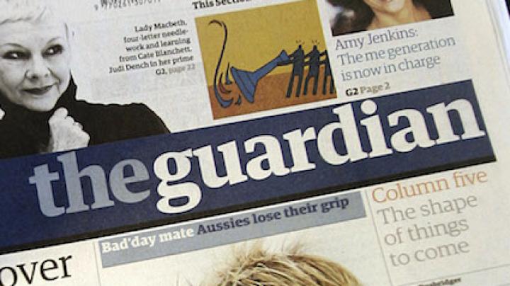 Cotidianul britanic The Guardian va adopta un alt format începând din 2018
