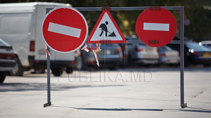 Atenţie, RESTRICŢII DE CIRCULAŢIE în Capitală! Străzile vizate