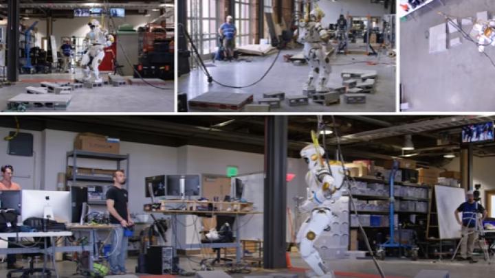 NASA: A construit un robot umanoid destinat colonizării planetei Marte