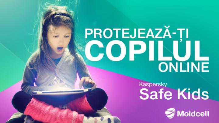 (P) Moldcell sărbătorește Ziua Internațională a Copiilor și lansează un serviciu pentru siguranța lor în mediul online