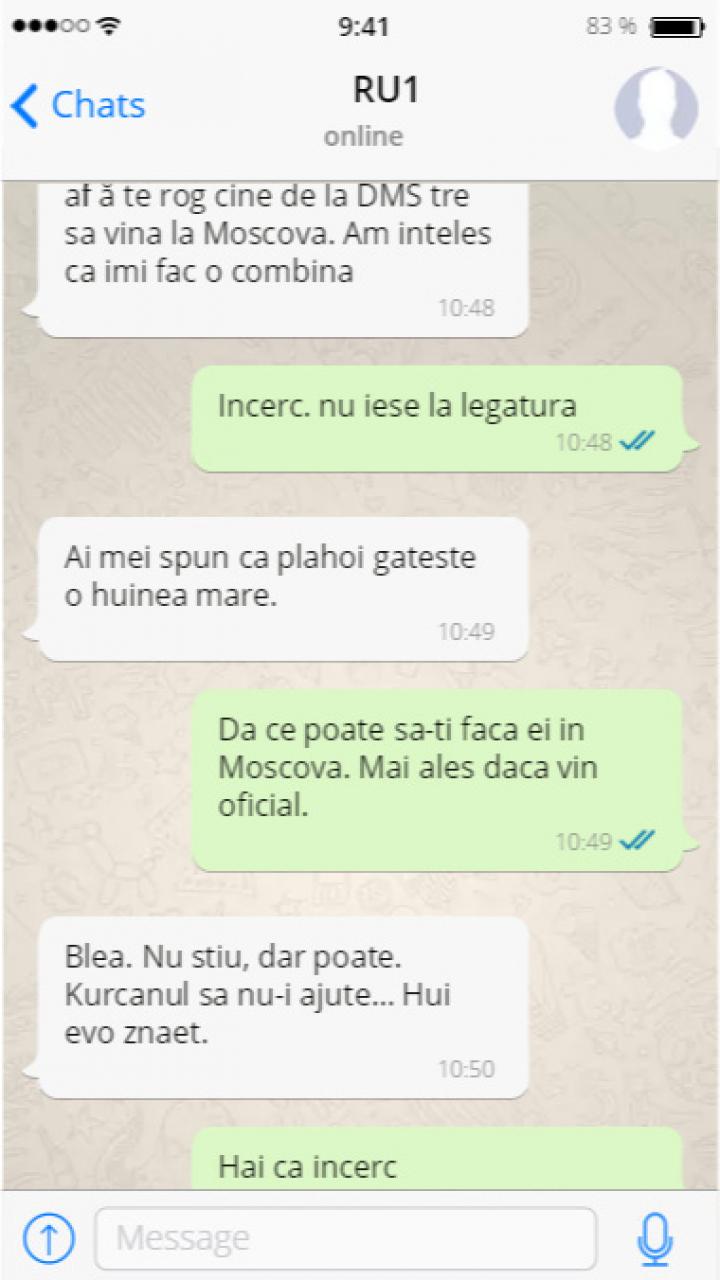 Penalul fugar Renato Usatîi, interceptat de hackeri. Legătura cu Serviciile Secrete Ruse şi raiderul Platon