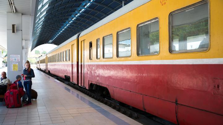 Trenul de pe cursa Chișinău – Odesa va circula mai des. Cât timp va fi valabil noul orar
