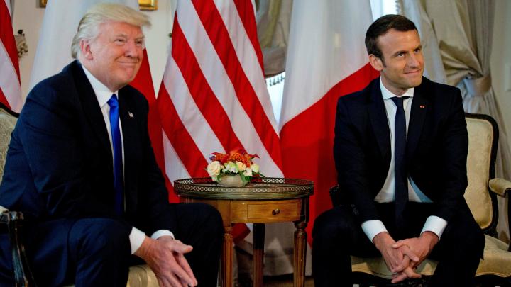 Emmanuel Macron l-a invitat pe Donald Trump la parada dedicată Zilei Naţionale a Franţei