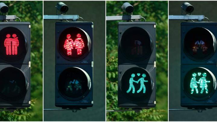 În Madrid au fost instalate aşa-numitele semafoare ale toleranţei