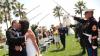 Nuntă în stil militar. Un poliţist de frontieră şi-a unit astăzi destinul cu aleasa inimii sale, îmbrăcat în uniforma în care muncește