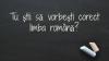 Chișinăul abundă în panouri publicitare și anunțuri stradale pline cu greșeli gramaticale. Ce spun trecătorii