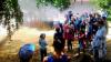 Centrul Comunitar din Anenii Noi, gazda pompierilor. Copiii învață cum să reacționeze în timpul incendiilor și la scăldat (FOTO)