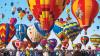 Zeci de baloane cu aer cald au colorat cerul în Mexic