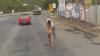 Haos pe o autostradă din Brazilia, o femeie goală pușcă a dat peste cap tot traficul (VIDEO)