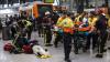 ACCIDENT GRAV: 54 de persoane au fost rănite după ce un tren nu a mai putut frâna
