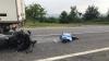 GRAV ACCIDENT pe traseul Chişinău-Leuşeni. Un motociclist a murit pe loc (VIDEO)